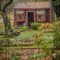A Rainy Day at Pickity Place in New Hampshire