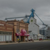A quiet Saturday in West Concord, Minnesota