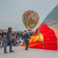 A Breezy Morning at the Hudson Hot Air Affair, Wisconsin