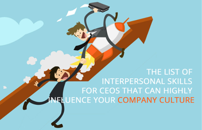 CEO interpersonal skills able to influence corporate culture