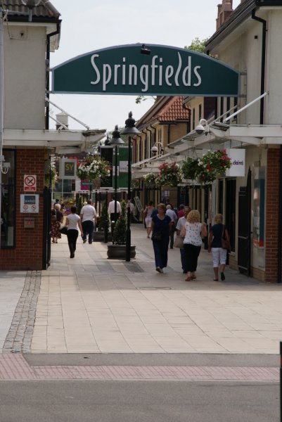 Outdoor Outlet Springfields Outlet Shopping Centre, Spalding, Lincolnshire