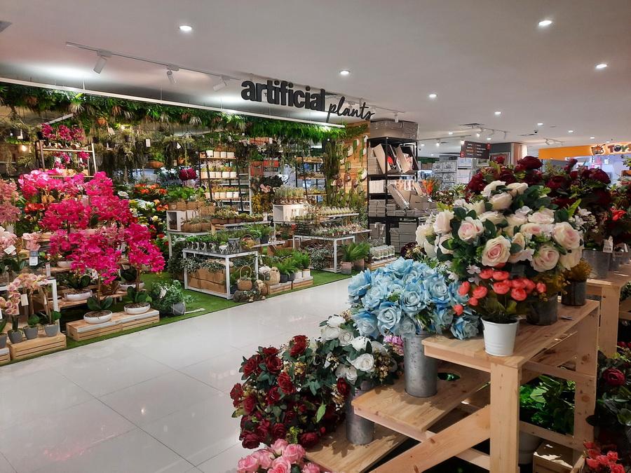 toko bunga plastik lengkap