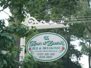 The Heart of Emerald Bed & Breakfast Accommodation