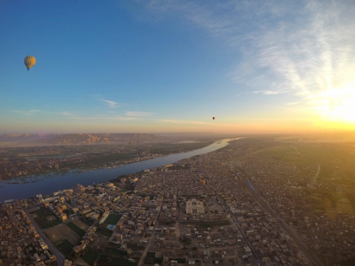 Hot Air Ballooning over Luxor, Egypt: Up, Up and Away