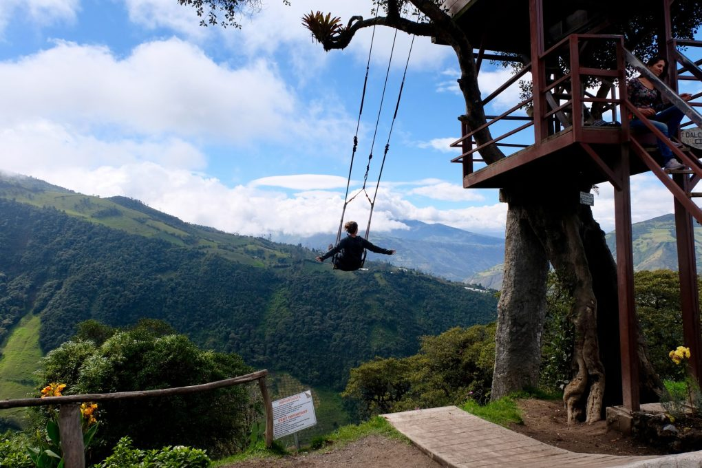 Videos Cruising Baños How To Get To The Swing At The End Of The World: Baños