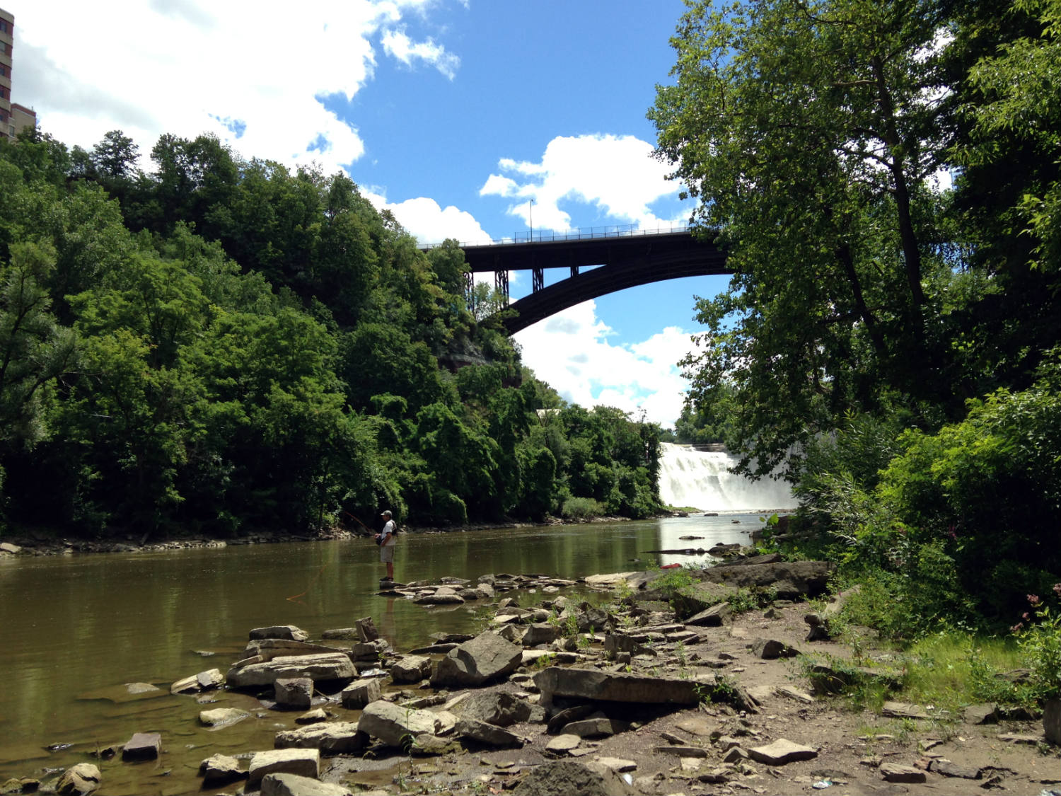 genesee river rochester ny fishing clubs