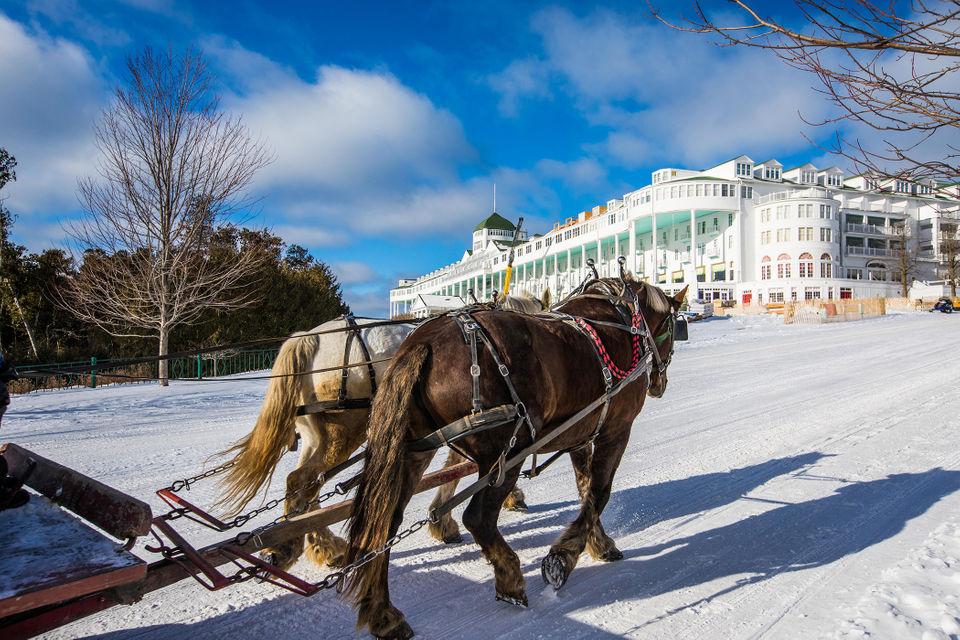 Behind the scenes at Mackinac Island\u0027s Grand Hotel in winter MLive