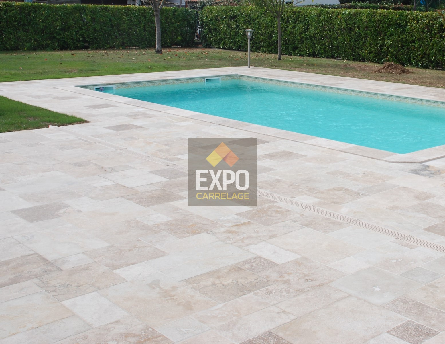 Revetement Sol Exterieur Martinique Travertin Classic Naturel Expo Carrelage