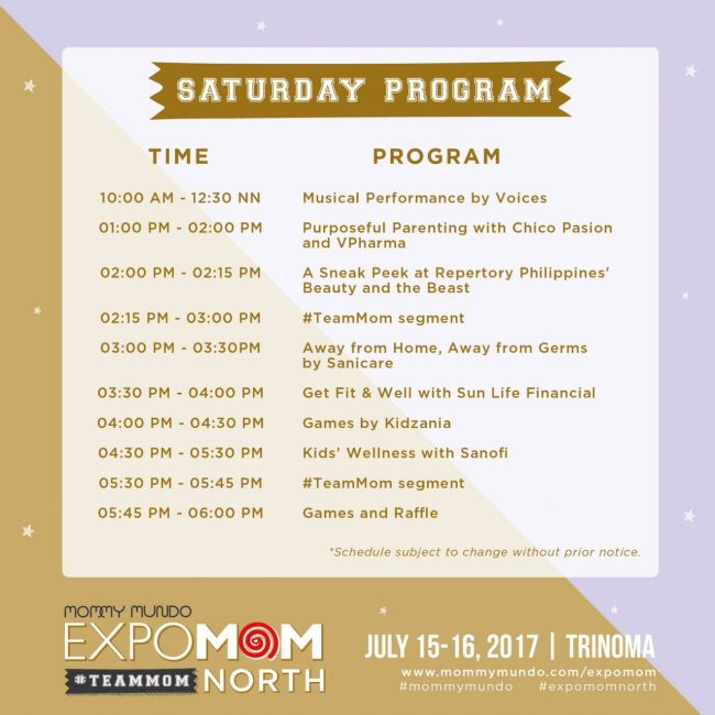 Event Map and Program 2017 EXPO MOM - Event Program