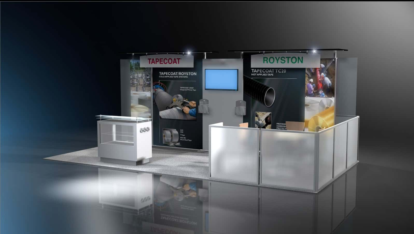 10 X 20 Rent 10x20 Trade Show Booth And Exhibits Exponents