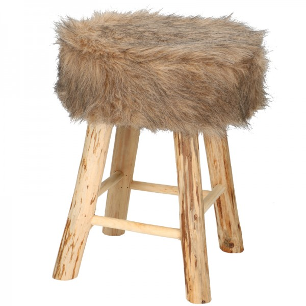 Hocker Mit Fell Fell Hocker