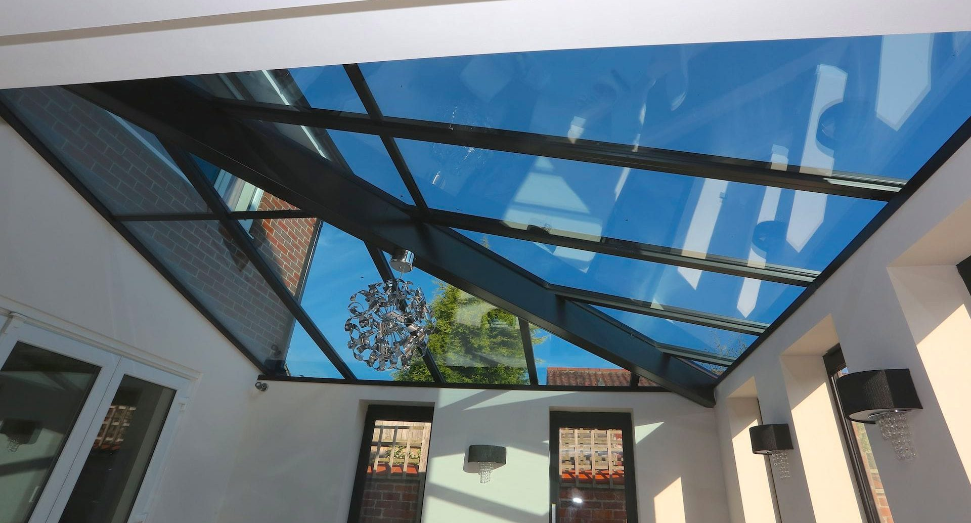 Glass Roof Extension Glazed Roof Extension Case Study Express Bi Folding Doors