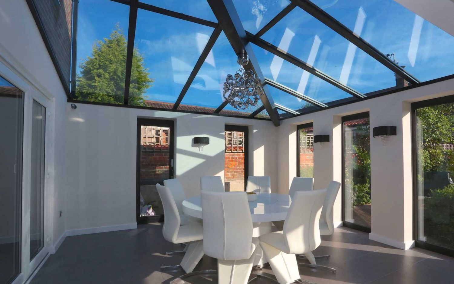 Glass Roof Extension Glass Roofing Lean Tos Aluminium Skylights Express Bi Folds