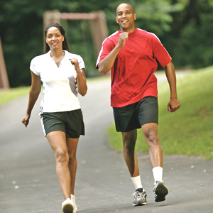You Don't Have to Run to Reduce Risk of Heart Problems