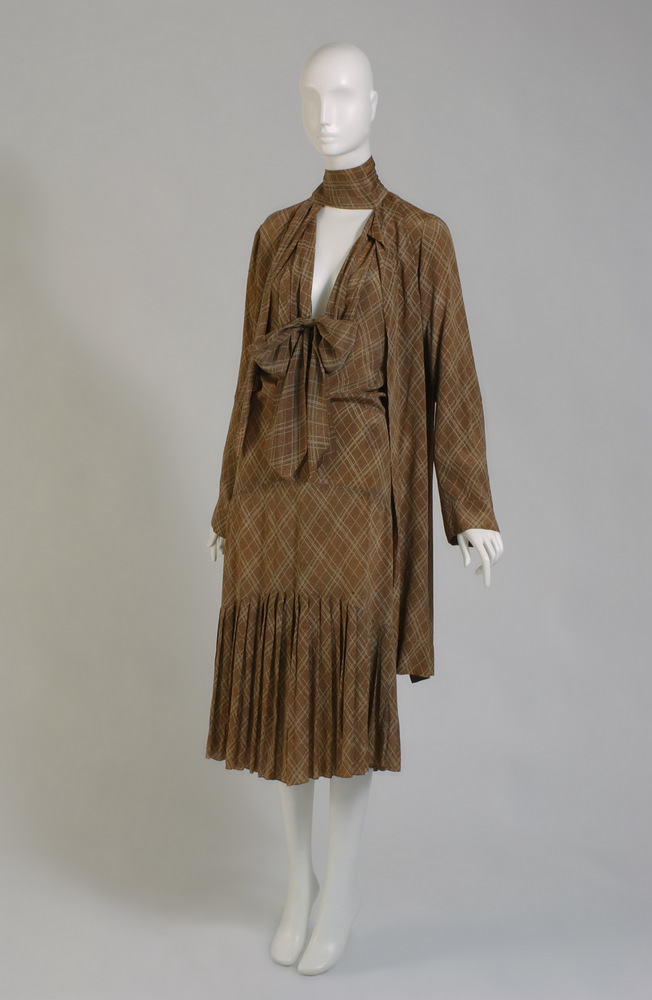 Louiseboulanger Dress and jacket Printed crepe 1929, France The Museum at FIT, 71.268.10 Gift of Muriel King