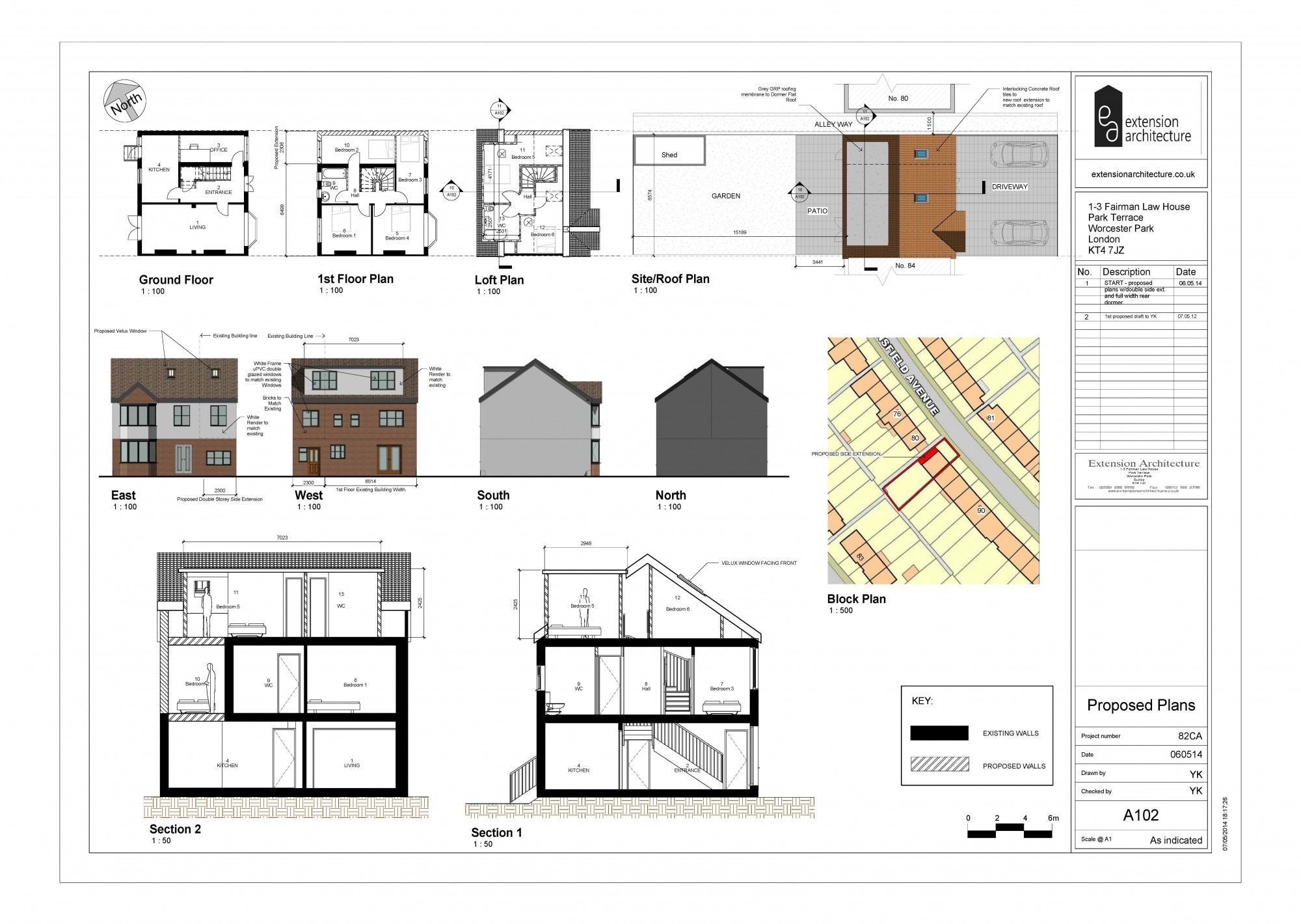 Application Dessin 3d Planning Applications And Drawings In London Extension