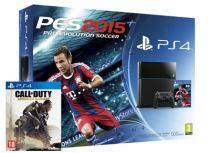 Sony PlayStation 4 - 500GB & PES 2015 & CoD: Advanced Warfare