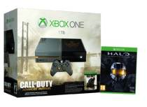 Xbox One - 1TB Limited Edition Advanced Warfare & Halo MCC