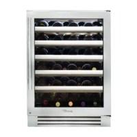 "True 24"" Dual Zone Wine Cabinet | Exterus Outdoor Kitchens"