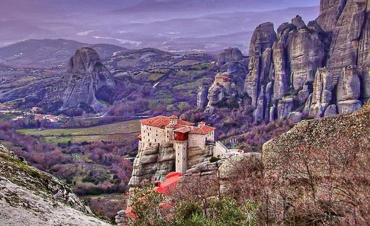 4. Meteora, Greece