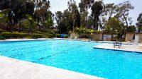 Condo Pool Area Huntington Beach, Ca