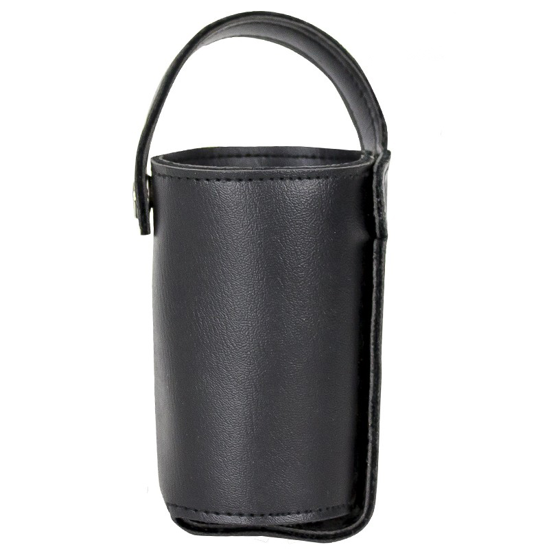 Motorcycle Leather Cup Holder With Tie Extreme Biker Wear