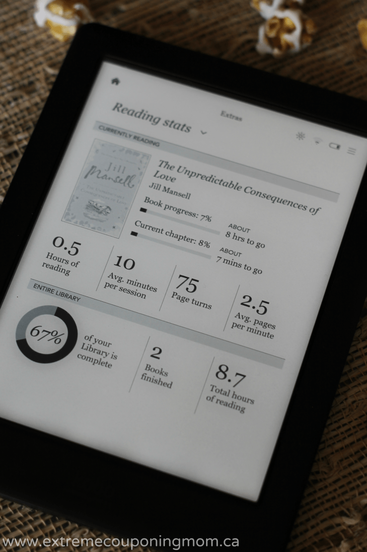 Kobo Glo HD Review_Stats