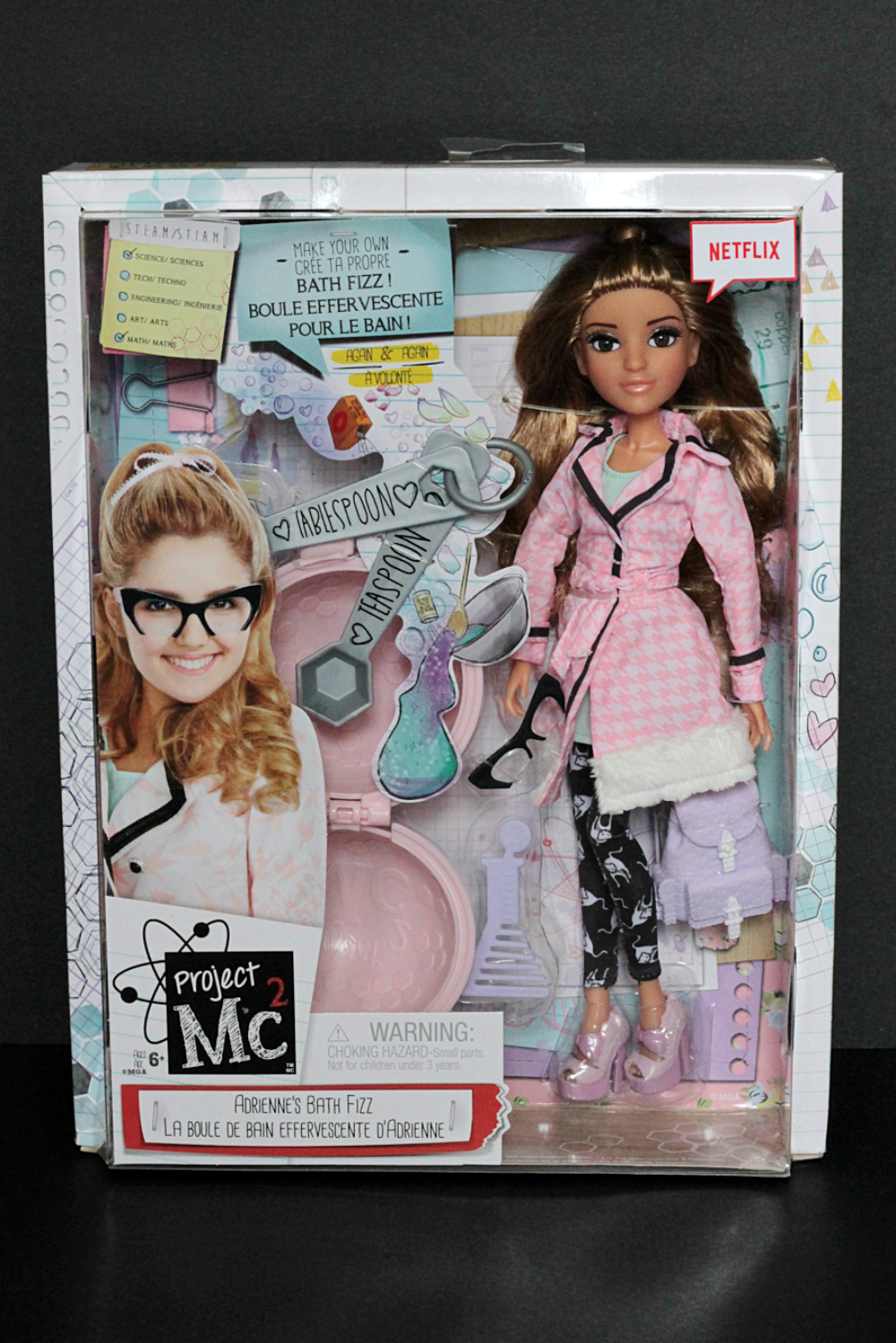 Project Mc² - Smart Is The New Cool! Adriennes Bath Fizz