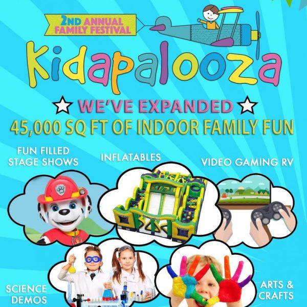 Win Tickets To Kidapalooza Family Festival