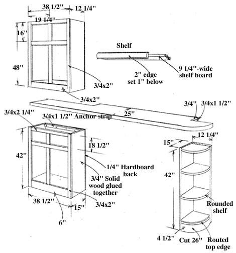 wiring for under cabinet kitchen lighting