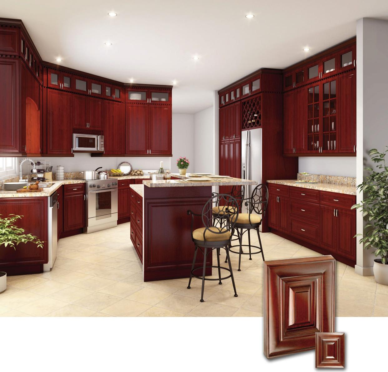 Kitchen Cabinets Cherry Wood Cherry Wood Kitchen Cabinets Cherry Kitchen Cabinets Ideas