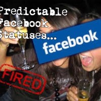 Predictable and Painful Facebook Statuses