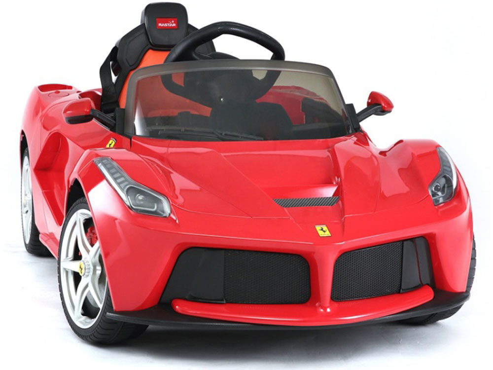 Child Car Seat Jacket Extreme Ferrari Ride On 12v Power Wheels Toy Electric Feber