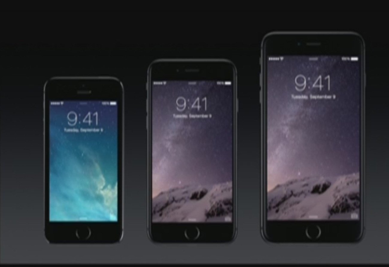 6 Plus Apple Unveils The 4 7 Inch Iphone 6 And 5 5 Inch Iphone 6