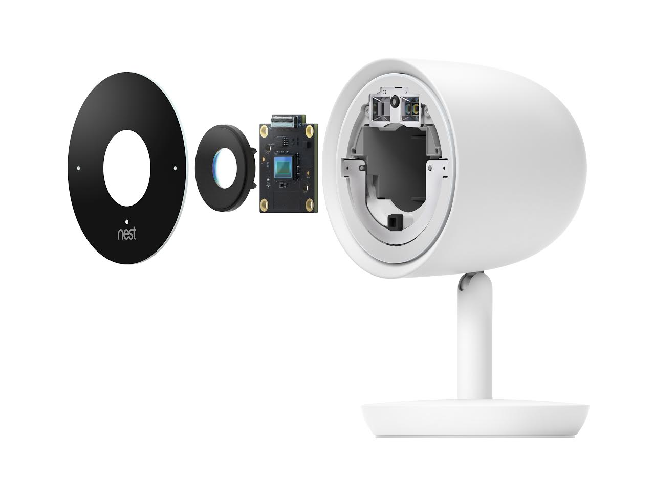 Camera Nest Nest Cam Iq Can Recognize Familiar Faces With Its 4k Sensor