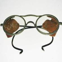 Vintage early 1900's Willson goggles. Motorcycle, automobile and aviator safety goggles.