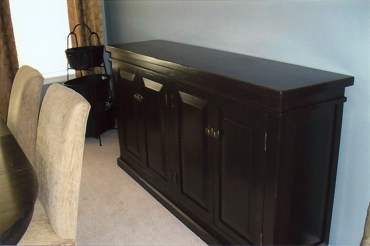 Sideboard Buffet Espresso Cabinets And Furniture Portfolio Categories Eye Design Art Studios