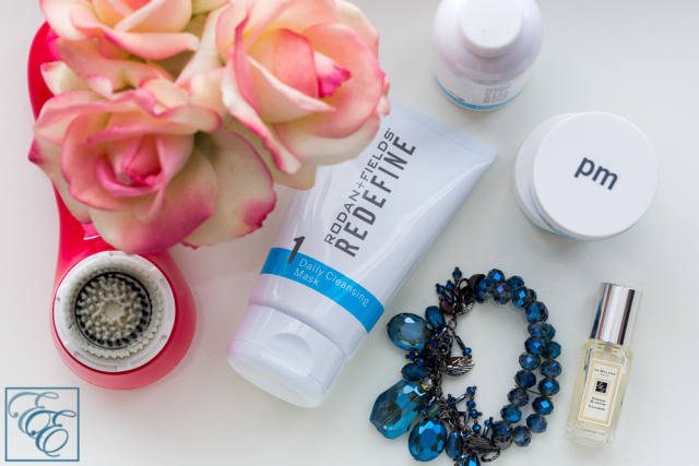 Rodan + Fields Acute and Redefine Skincare Regime - Products and Clairsonic Cleaner