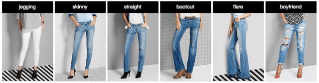 Target Denim Jean Styles