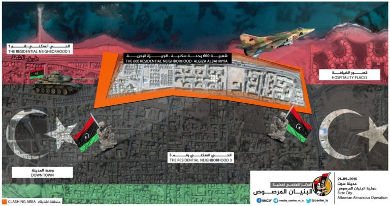 16-09-22 ISIS Positions in Sirte