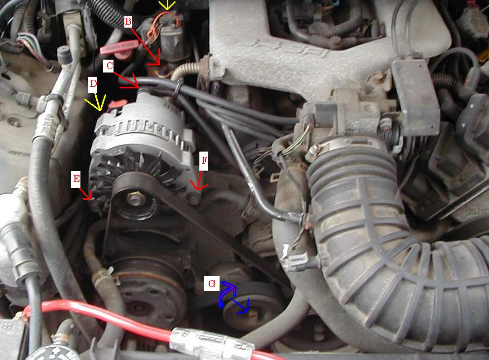 95 Chevy 350 Motor Wiring Diagram Electrical Circuit Electrical