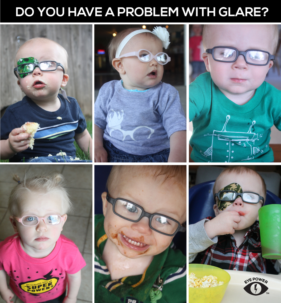 how to get rid of glare on glasses