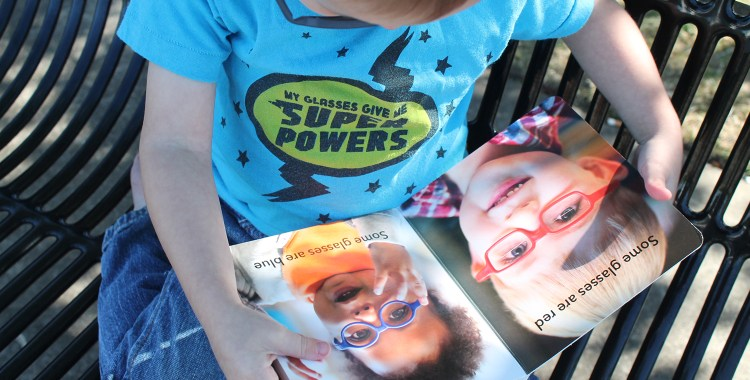 Glasses Board Book Giveaway!