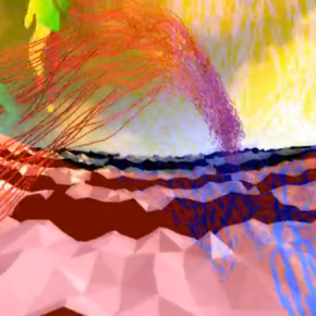 Mishap, Video still, United VJs, From Submerged!, Radiator Arts, Leo Kuelbs Collection, 2014