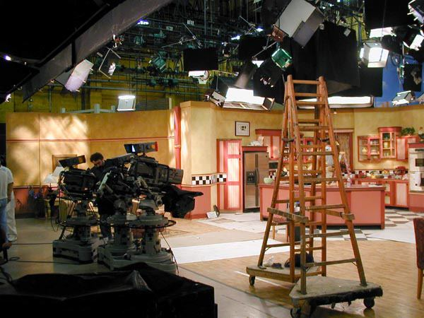 Social Sofa The 'rosanne' Set At Cbs Studio Center – Eyes Of A