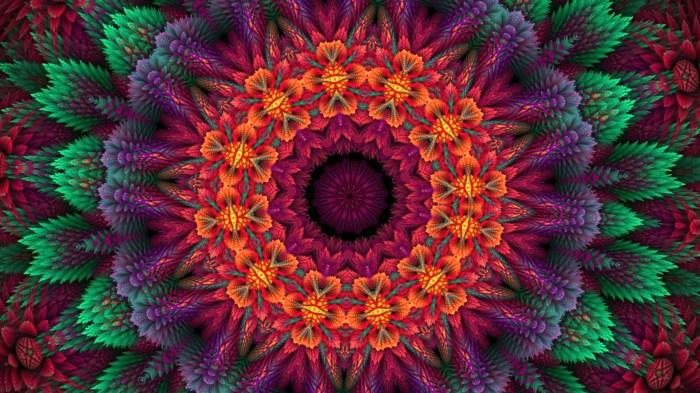 Psychedelic Wallpaper Hd Fractal Design Potential Beauty Eyesofodysseus