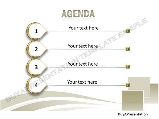 BuyAPresentation agenda template sample - EzineArticles Expert