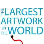worlds largest art logo