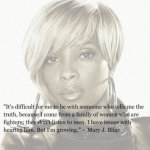 MARY J BLIGE ON LOVE