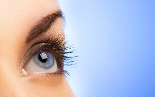 bigstock-Human-eye-on-blue-background--13207304